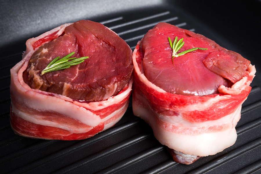 Bacon Wrapped Tenderloin Medallions - L&M Meat