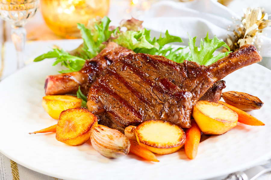 Frenched Veal Rib Chops - L&M Meat