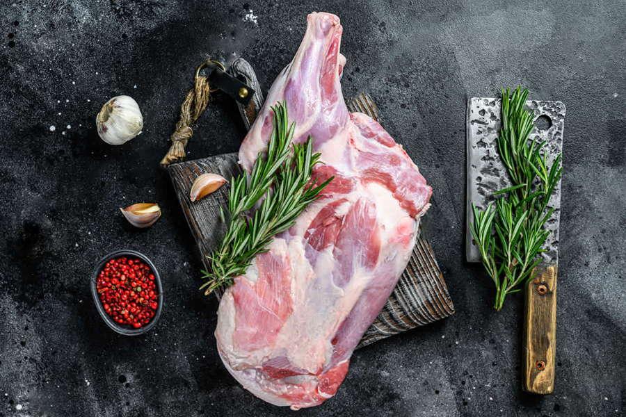 Goat Shoulder - L&M Meat