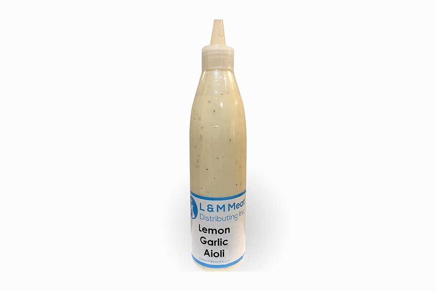 Lemon Garlic Aioli - L&M Meat