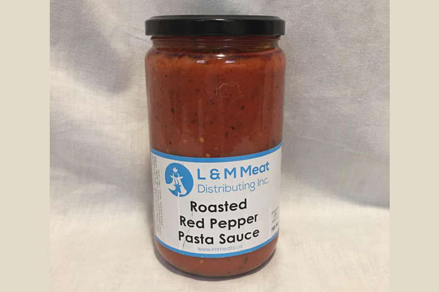 Roasted Red Pepper Pasta Sauce - L&M Meat